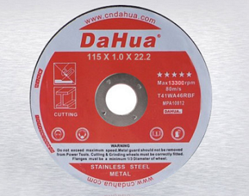 china cutting discs