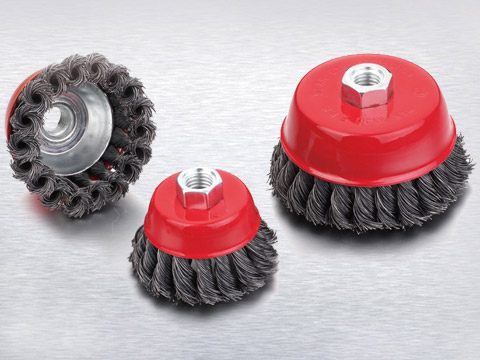 What Are the Features of Twisted Wire Brushes?