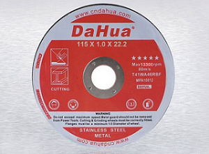 Cutting and grinding wheels usage precautions
